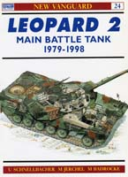 Leopard 2 main battle tank 1979 1998 osprey new vanguard 24
