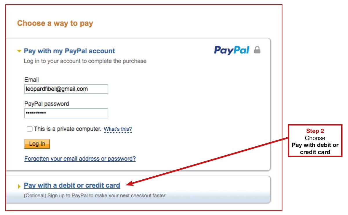 how to send funds through paypal to gmail account