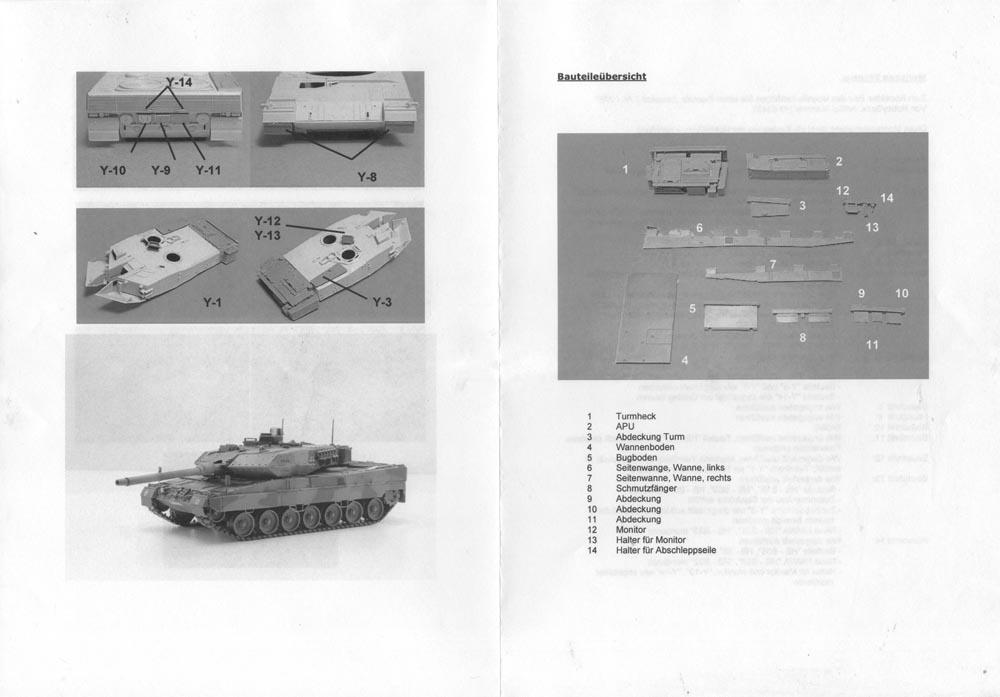Leopard Club : Reviews - Y-Modelle Leopard 2A7 Conversion